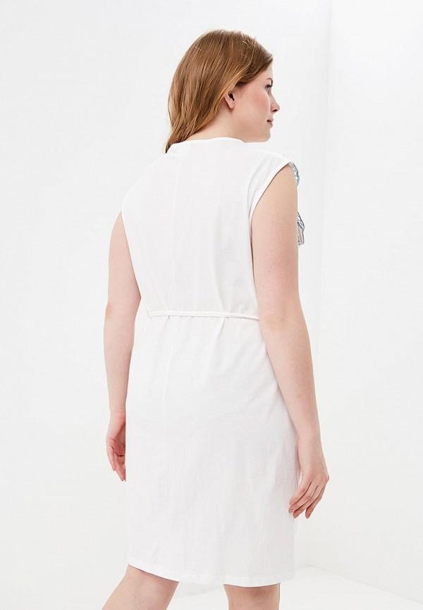 Фото 3 - женское платье Junarose белого цвета