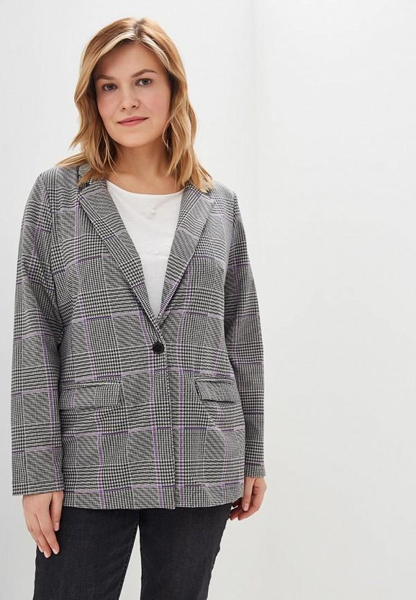 женский пиджак junarose, серый