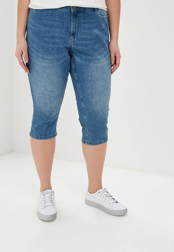 женские шорты junarose, синие