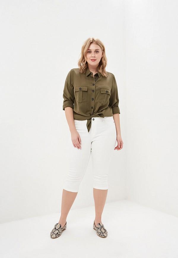 Фото 2 - женские джинсы Junarose белого цвета
