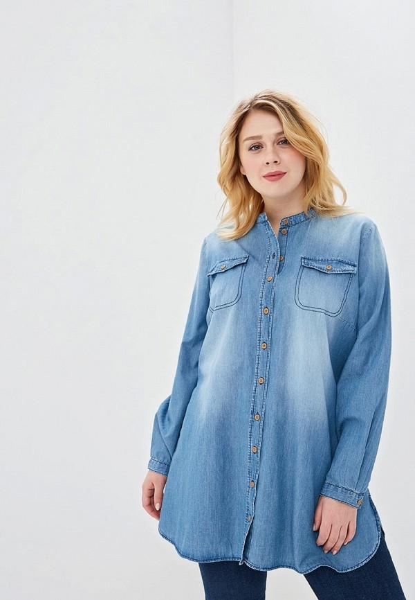 Рубашка джинсовая Junarose Junarose JU008EWDRFV8 джемпер junarose junarose ju008ewzoz66