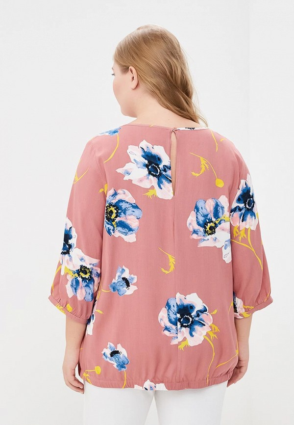Фото 3 - женскую блузку Junarose розового цвета