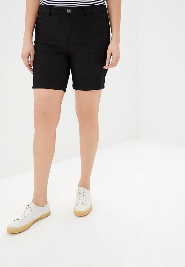 женские джинсовые шорты junarose, черные