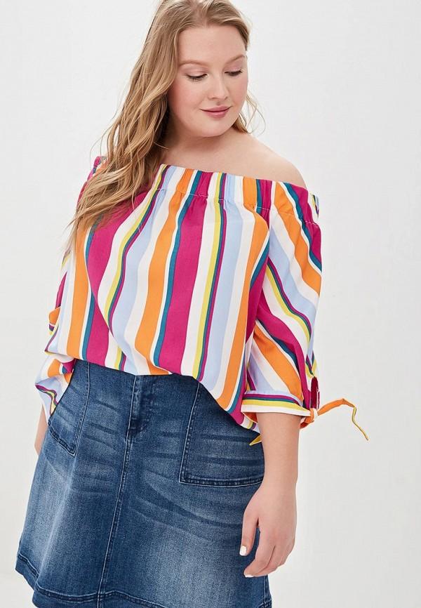 женская блузка junarose, разноцветная