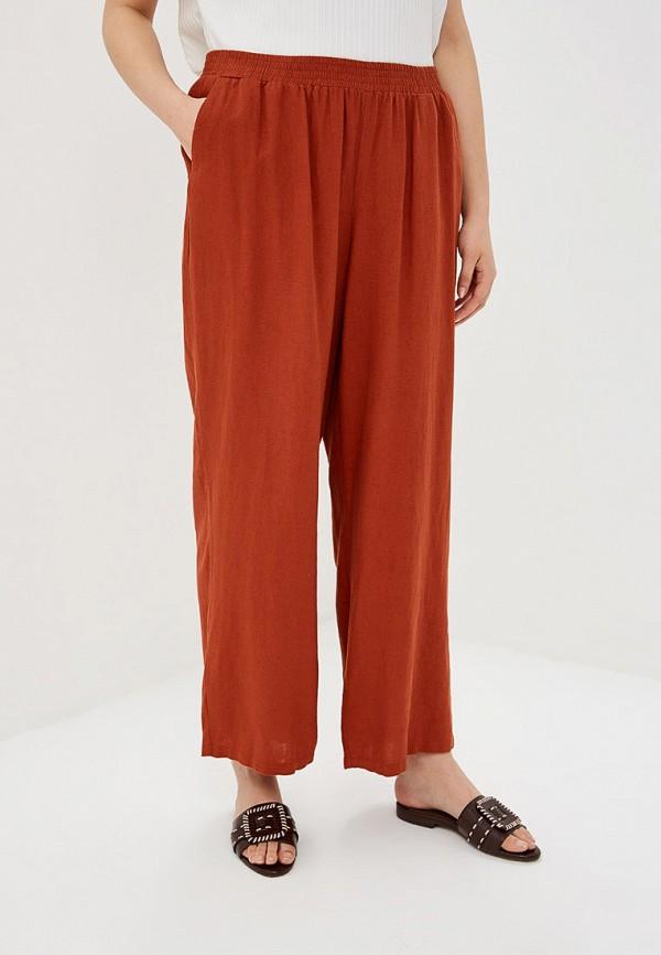 женские повседневные брюки junarose, коричневые