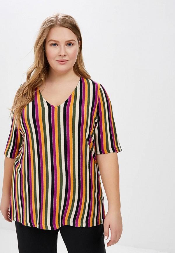 женский пуловер junarose, разноцветный