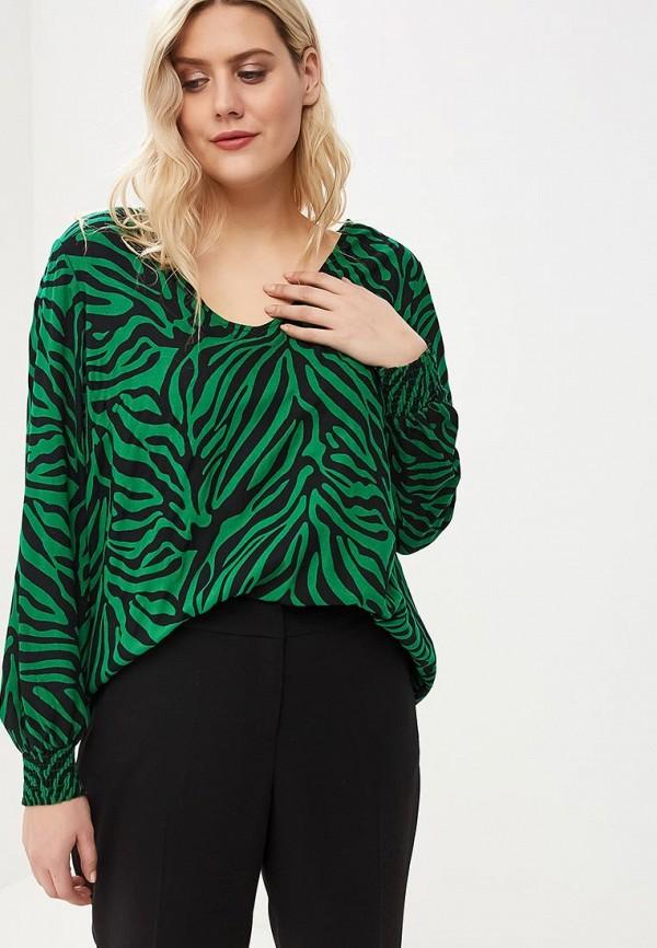 женская блузка junarose, зеленая