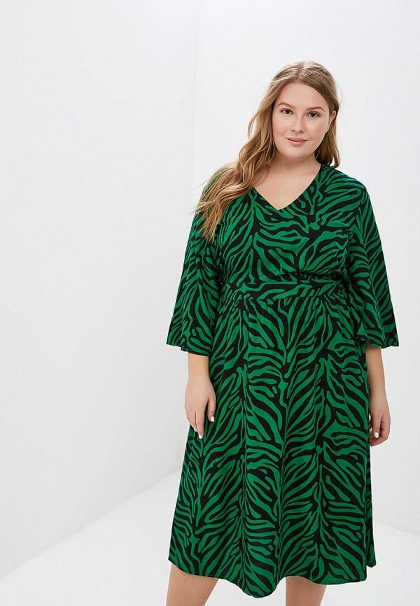 женское повседневные платье junarose, зеленое