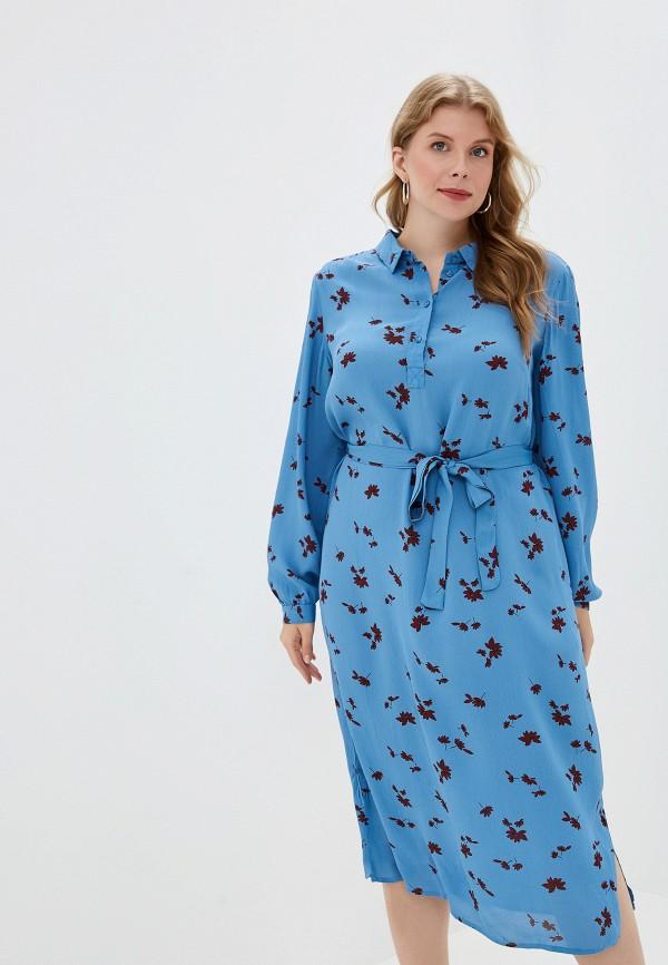 женское платье junarose, синее