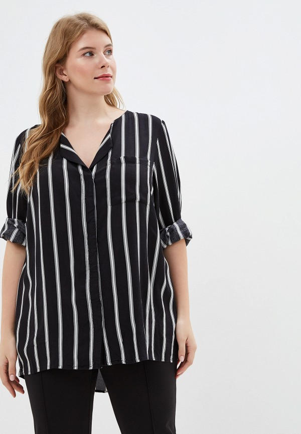 женская блузка junarose, черная