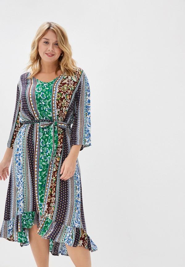 женское повседневные платье junarose, разноцветное