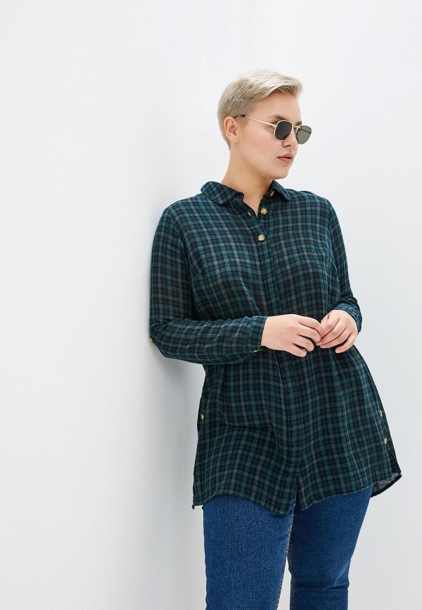 женская рубашка junarose, зеленая