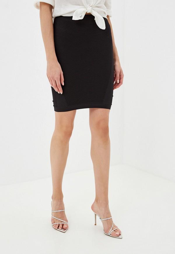 женская юбка junarose, черная