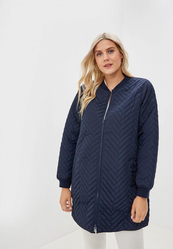 женская куртка junarose, синяя
