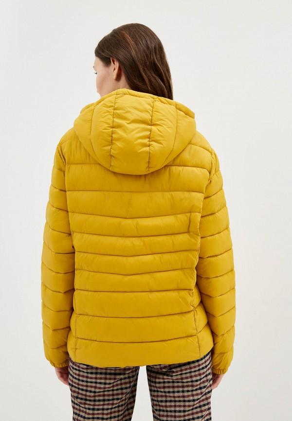 Фото 3 - Куртку утепленная Junarose желтого цвета