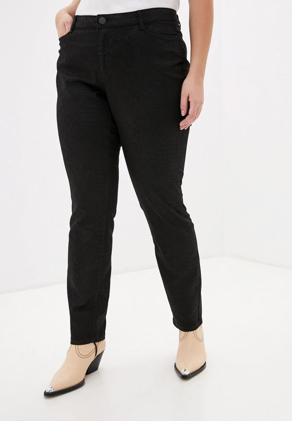 женские прямые брюки junarose, черные