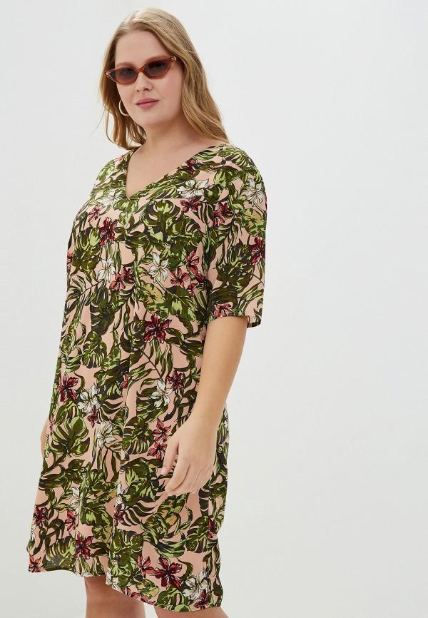 женское повседневные платье junarose, розовое