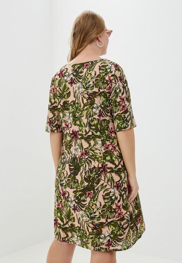 Фото 3 - женское платье Junarose розового цвета