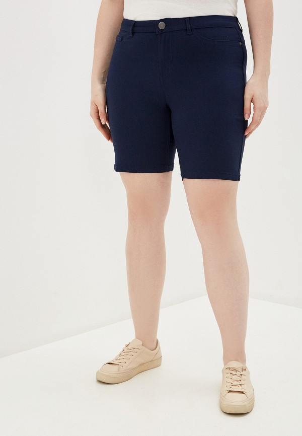 женские повседневные шорты junarose, синие