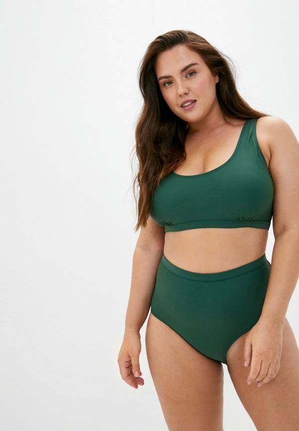 женские плавки junarose, зеленые