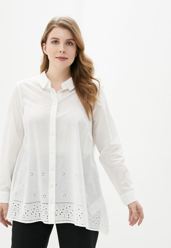 женская рубашка junarose, белая