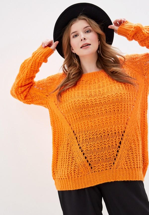 женский джемпер junarose, оранжевый