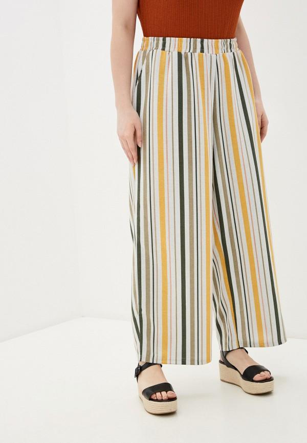 женские прямые брюки junarose, белые