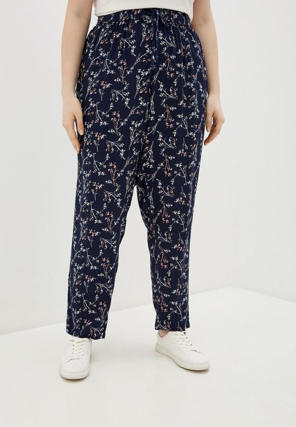 женские прямые брюки junarose, синие
