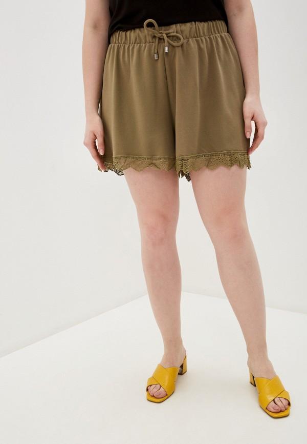 женские повседневные шорты junarose, хаки
