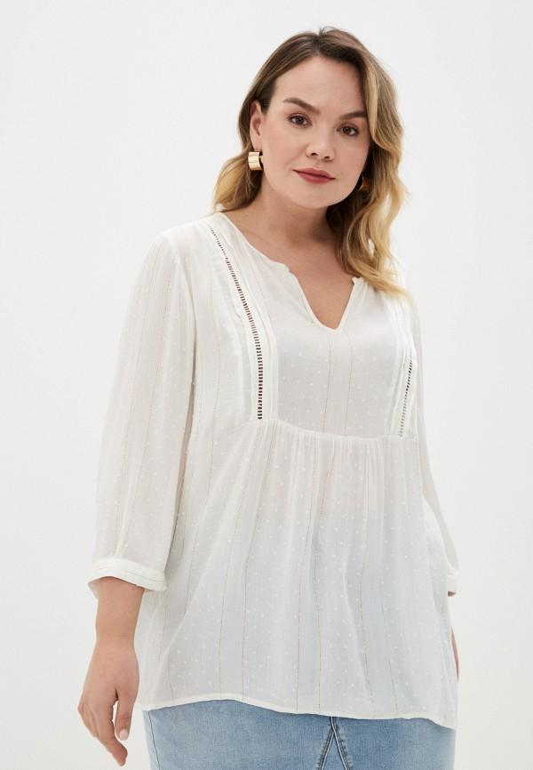 женская блузка junarose, белая