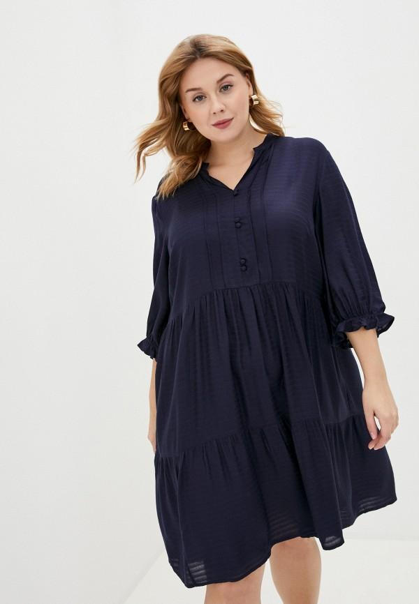 женское повседневные платье junarose, синее