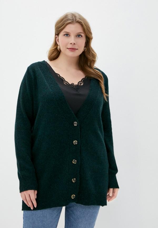 женский кардиган junarose, зеленый