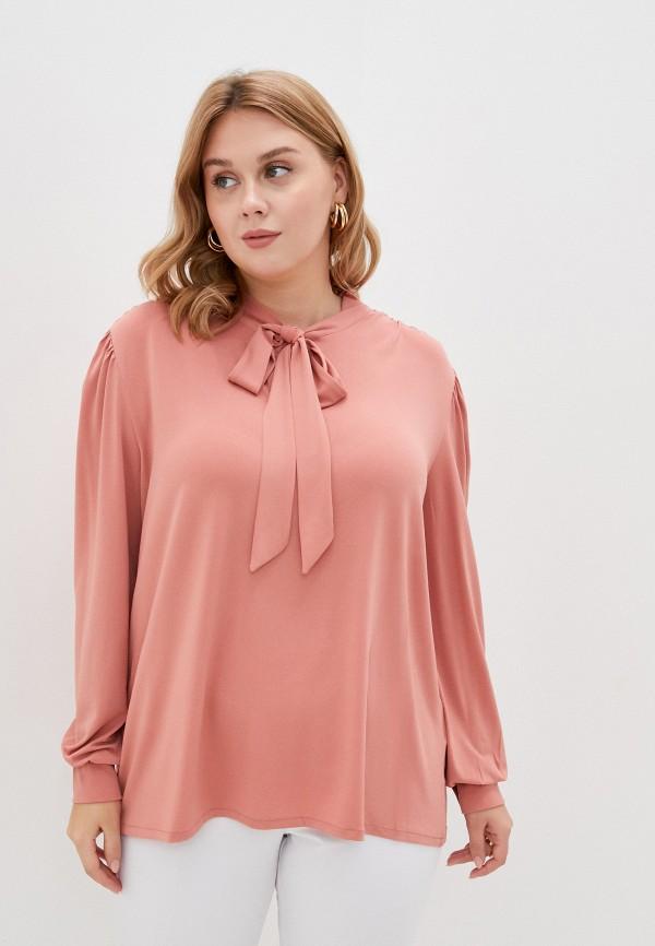 женская блузка junarose, розовая