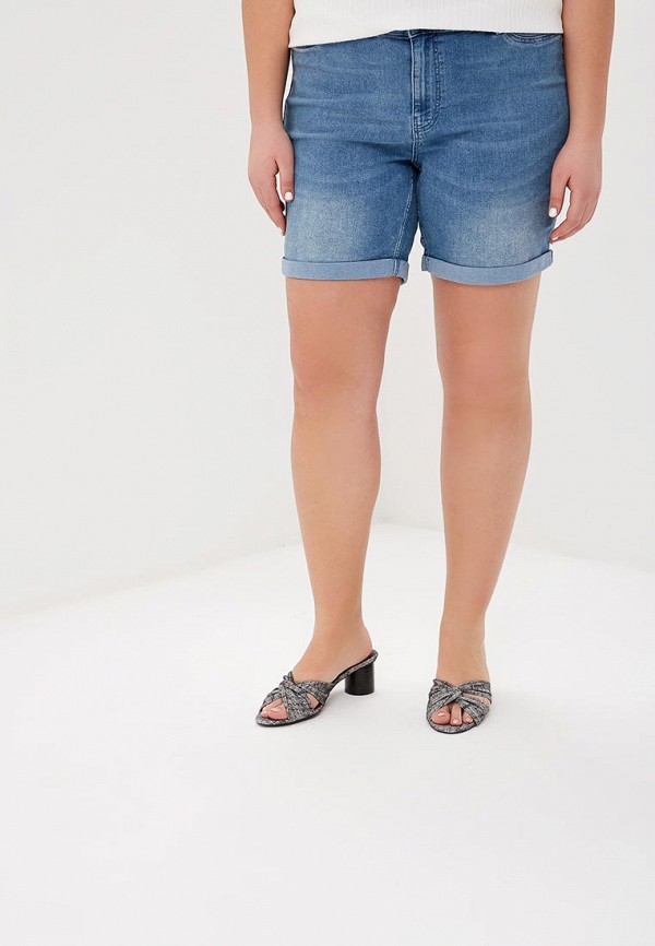 женские джинсовые шорты junarose, разноцветные