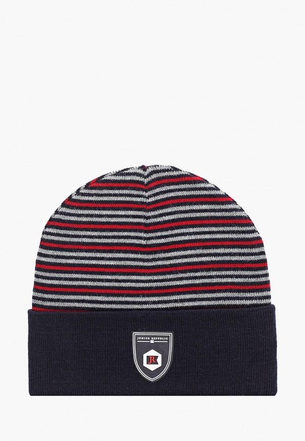 шапка junior republic для мальчика, синяя