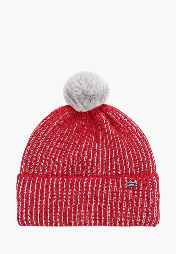 шапка junior republic для девочки, бордовая