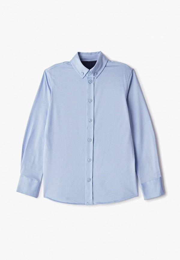 рубашка junior republic для мальчика, голубая