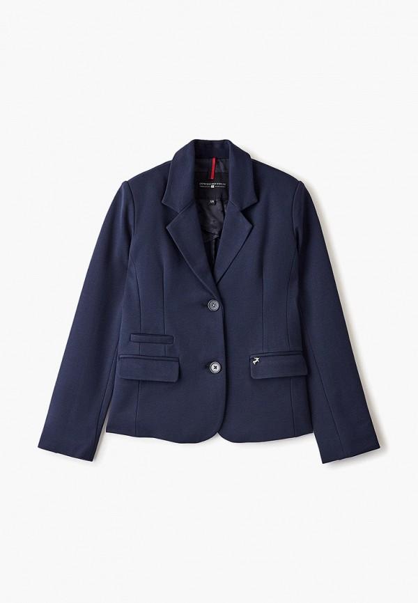 пиджак junior republic для девочки, синий