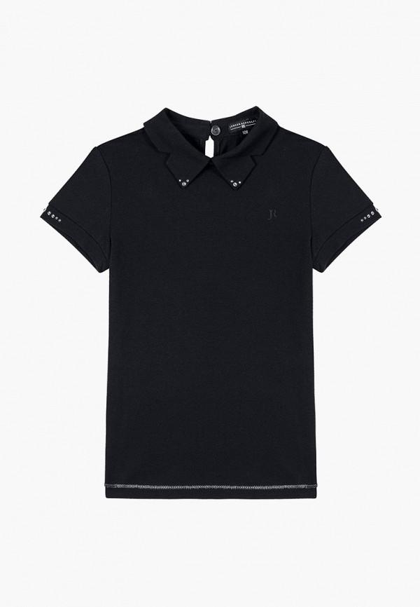 блузка junior republic для девочки, синяя