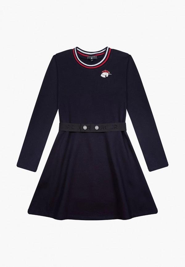 повседневные платье junior republic для девочки, синее