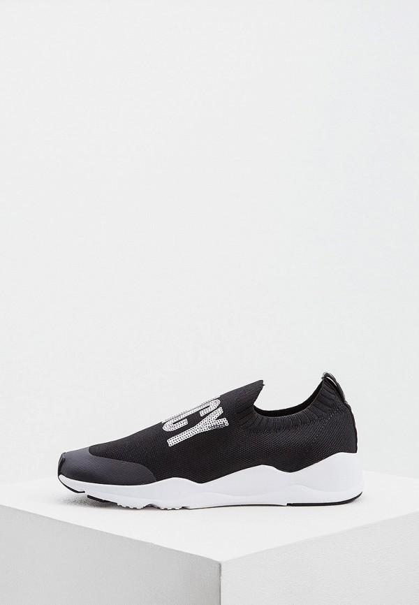 женские кроссовки juicy by juicy couture, черные