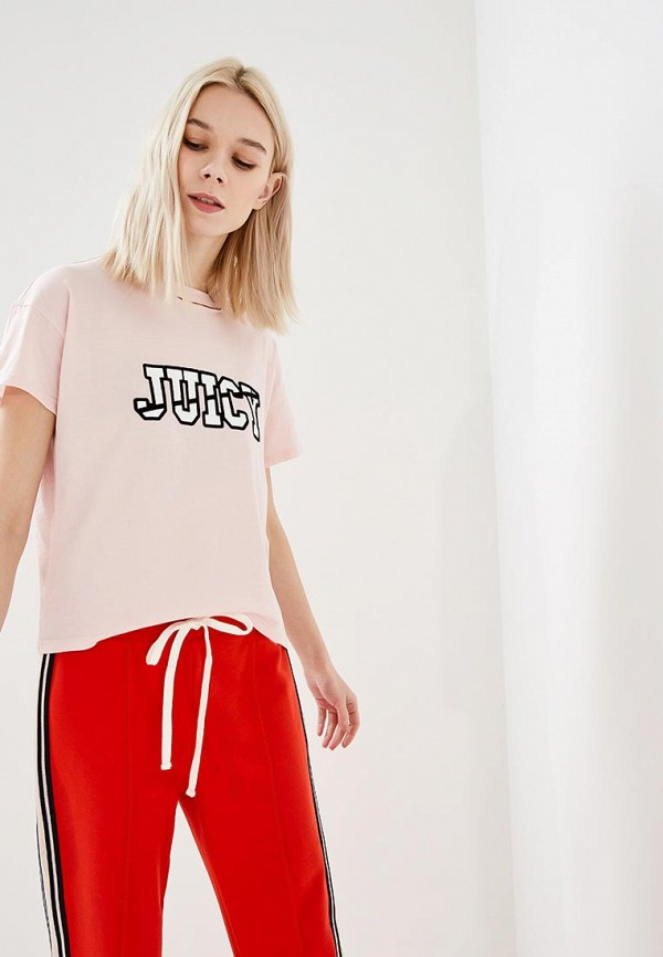 Футболка Juicy by Juicy Couture Juicy by Juicy Couture JU018EWASCK2 рюкзаки juicy couture whb453 451