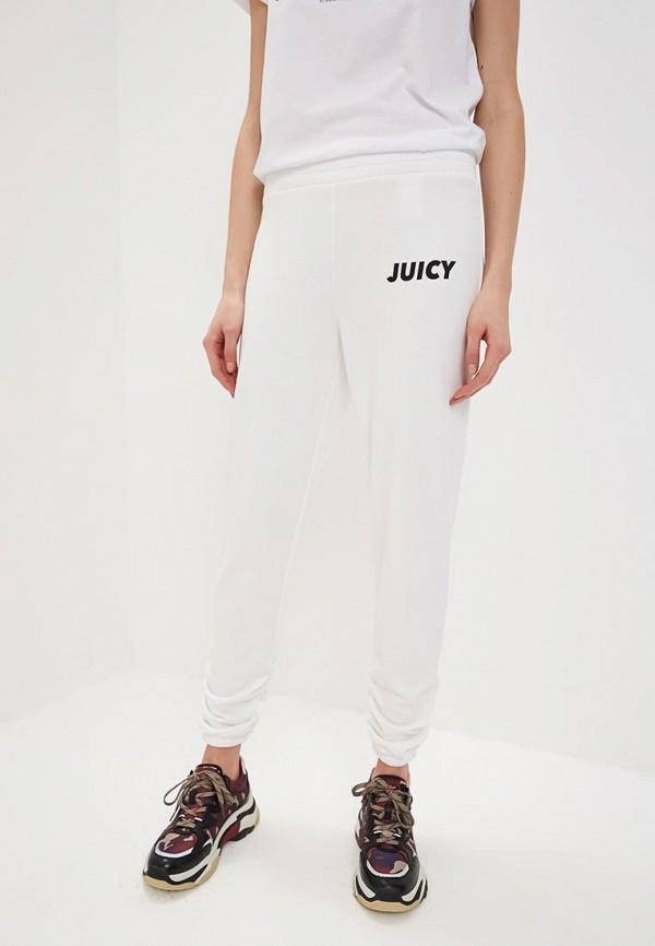 женские спортивные брюки juicy by juicy couture, белые