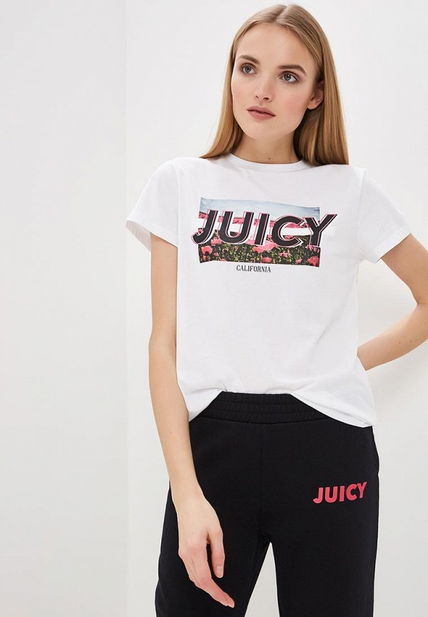 купить Футболка Juicy by Juicy Couture Juicy by Juicy Couture JU018EWEHJQ2 по цене 3900 рублей