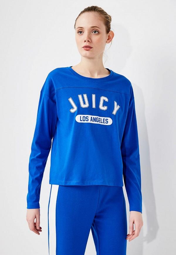 Лонгслив Juicy by Juicy Couture Juicy by Juicy Couture JU018EWZQC67 платье juicy by juicy couture jwtkj113410 009
