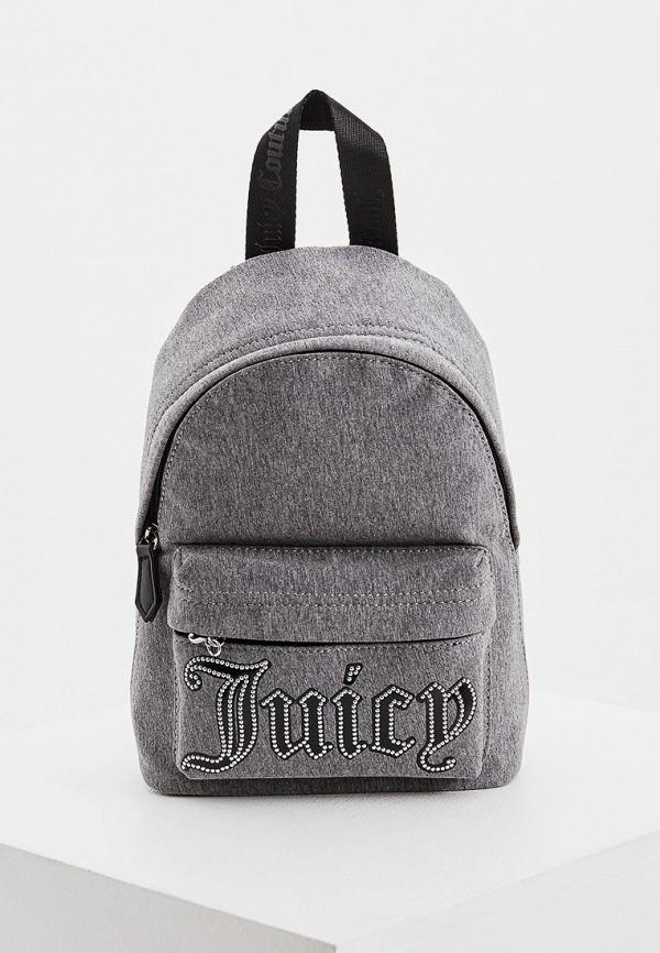 женский рюкзак juicy couture, серый