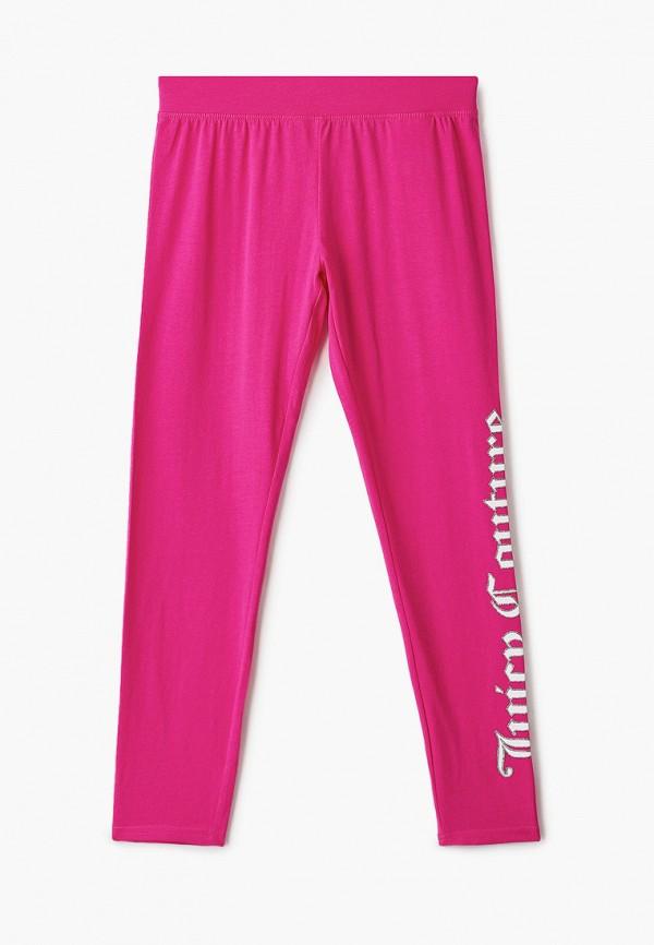 леггинсы juicy couture для девочки, розовые