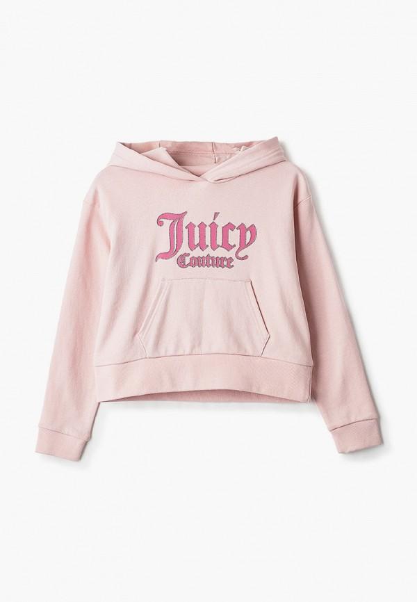 худи juicy couture для девочки, розовые