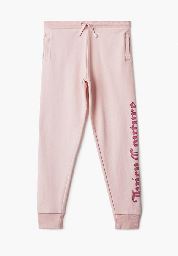 спортивные брюки juicy couture для девочки, розовые