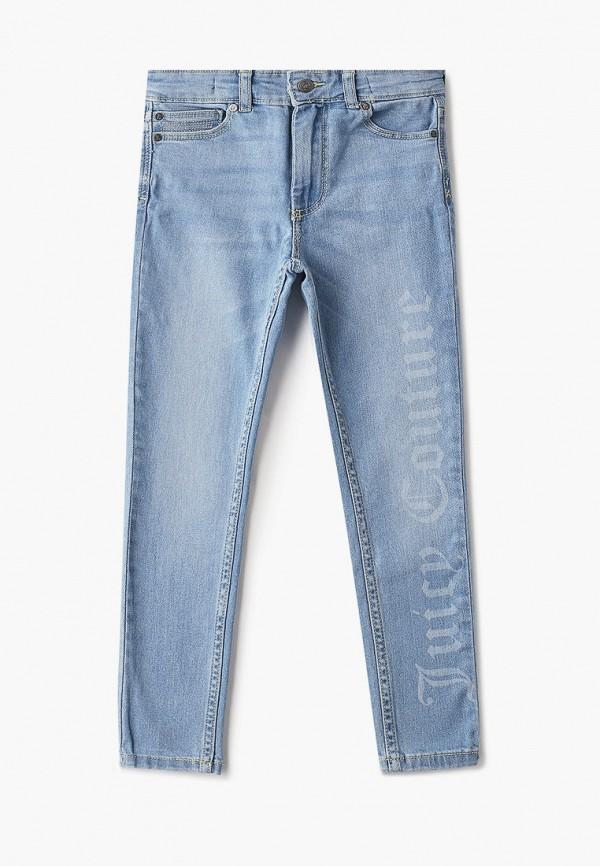 джинсы juicy couture для девочки, голубые
